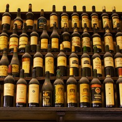 Wine-Bottles-at-Vinicula-Mentridana
